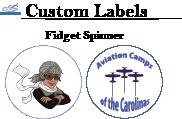 Custom LabelsFidgetSpinner
